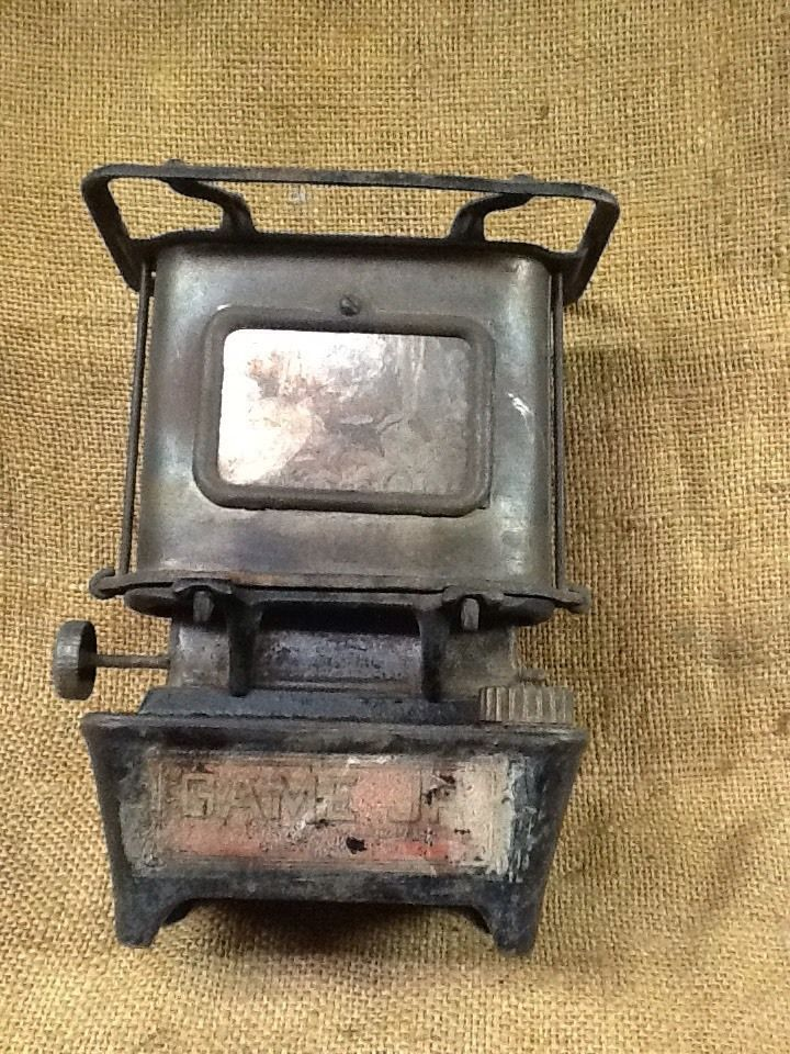 Vintage Cast Iron Game Jr. Camp,Railroad Stove Taylor & Boggs  | eBay