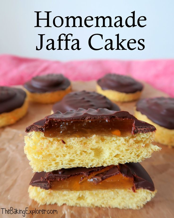 The Baking Explorer: Homemade Jaffa Cakes: GBBO Season Seven Begins!