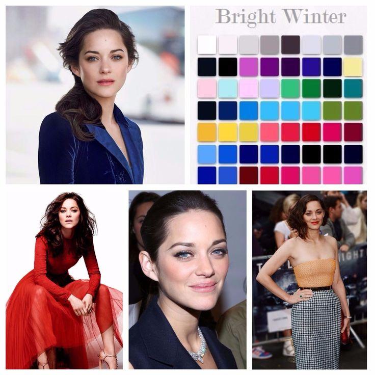 Évszakelmélet 4. rész – a Tél típus tulajdonságai és előnyös színei   Colorfullife-Style
