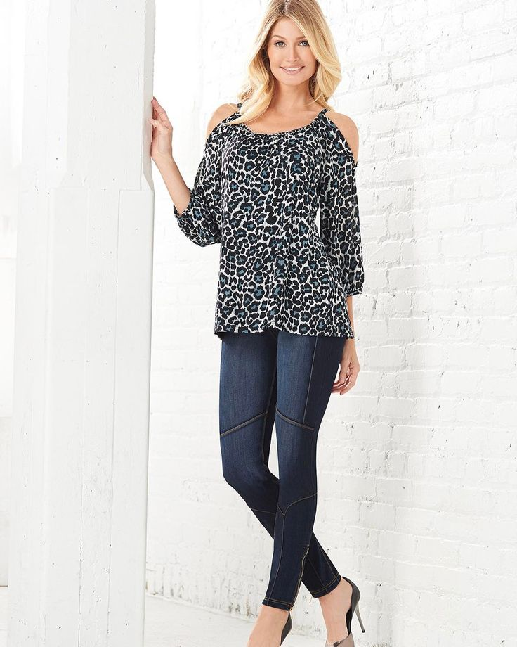 Stand out in our new LUXE Denim Biker Jeans that pairs perfectly with our Cold Shoulder Blouse for your perfect #ootd #fashion #style #timeless #nygardslims #nygard #chic #summer #perfectfit #detailedblouse #canadiandesigner #summertime . . . #model #fashiongram #photography #potd #fashionmodel #modellife #igers #instagood #modelagency #instafashion #photoshoot #bts