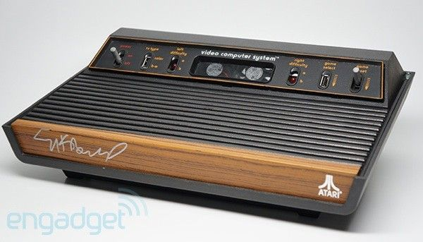 Engadget - Our friends at Atari were kind enough to give us an extremely limited-edition (there are only two in existence) Atari 2600 gutted with modern PC components and signed by Atari founder Nolan Bushnell -- and one lucky soul will be able to call this beauty their very own!