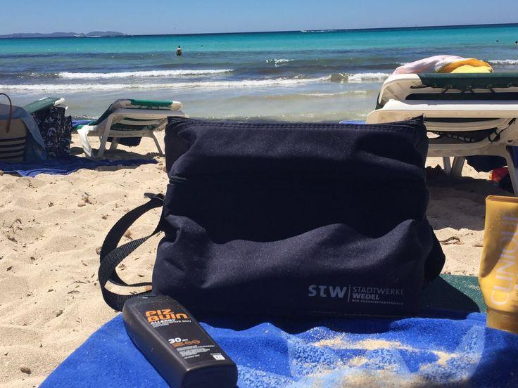 Wedel unterwegs auf Mallorca fast so schön wie Beach Club an der Elbe