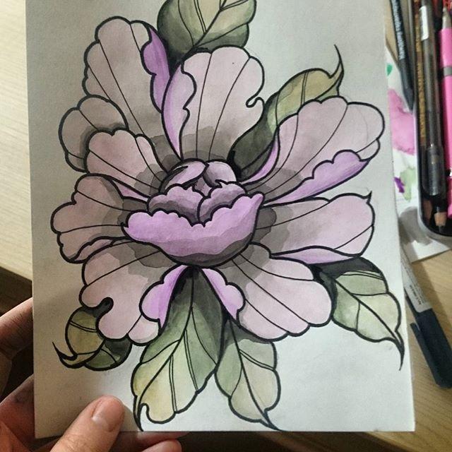 New drawing  I love peonies  and watercolor  ________________________________________ #work #art #artwork #trubatattoo #tattooart #tattooartist #blackandwhite #pionies #creative #linework #dotwork #mandala #blackwork #illustration  #new #like #flowers #tattoosketch #black #blackart #geometry  #love #mandalas #sketch #tattooflash #tattoos #tattoo  #blacktattoo #princess #disney #flowers