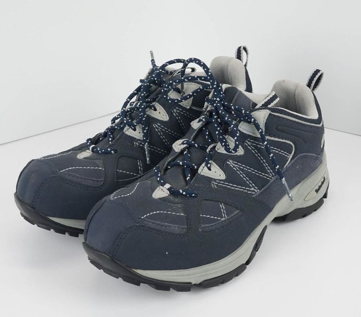 Timberland Pro Women's Size 8M Willow Trail ESD Navy Blue Alloy Safety Toe 87525 #Timberland #WorkSafety