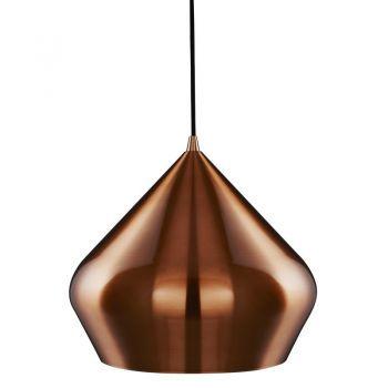 Pendul Searchlight Vibrant Pyramid Copper - un pendul modern pentru idei fresh de decoratiuni interioare #homedecor #DecoStores #amenajariinterioare #iluminat #corpiluminat #pendule #ceilinglamps