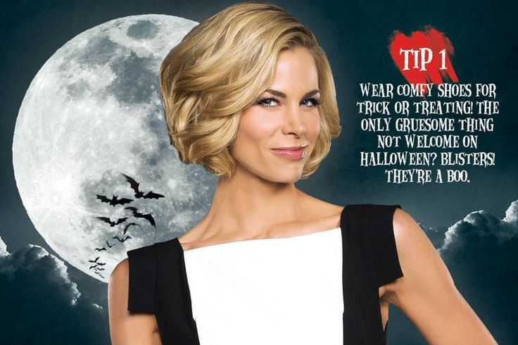 The lovely Brooke Burns has some invaluable #Halloween ...