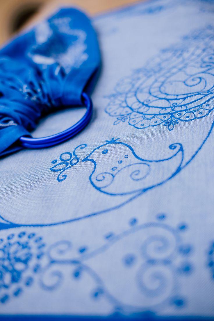 Karikás kendő - Ring Sling  Madárka és a gondolat teremtő ereje