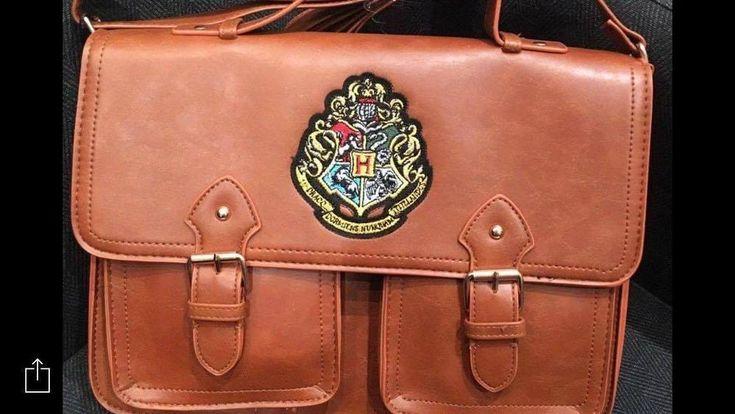 Harry Potter Satchel School Bag Purse Shoulder Strap Handbag Primark Brown