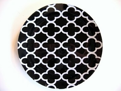 Decoupage fabric glass plates are a cheap way to add style to your home for all occasions!