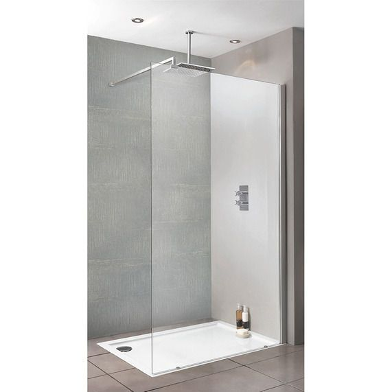 Playtime walk-in shower with side screen 800 | bathstore £319