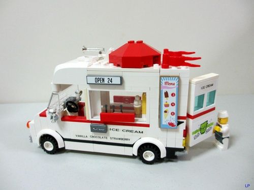 Ice Cream Truck: A LEGO® creation by Joey Poh : MOCpages.com