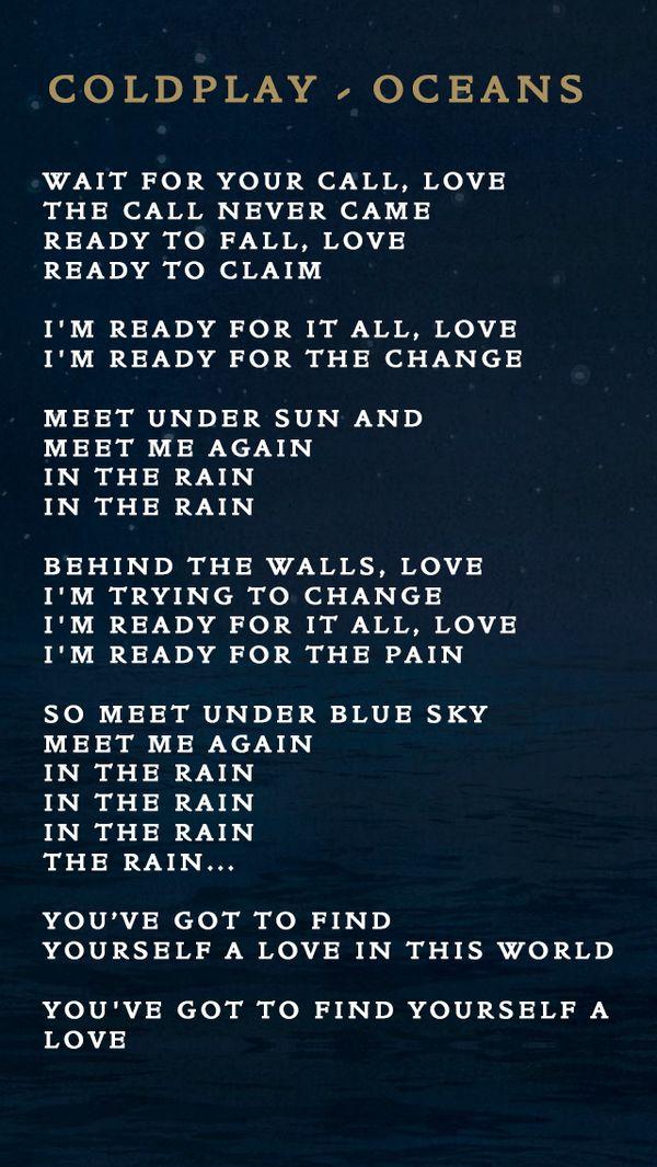 oceans lyrics in spanish