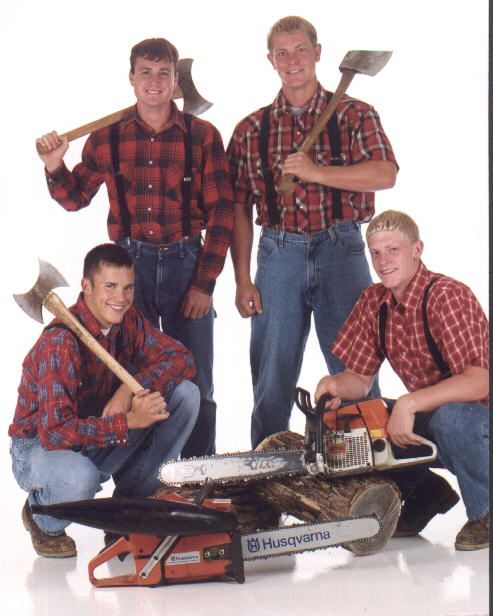 Saw Team Lumberjack Training