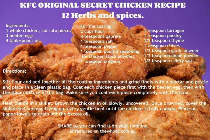 how to make kfc original recipe fried chicken