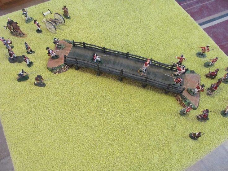 "Revolutionary War 30 Piece Pewter ""Battle of Concord Bridge"" Diorama Set | eBay"