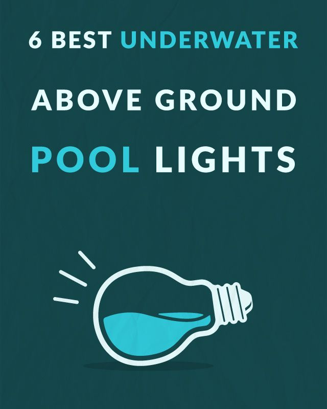 Want to install a light in your above ground pool so you can go night swimming? Here are the 6 Best Underwater Above Ground Pool Lights. The best part is, these are all quick and easy to install. DIY swimming pool lights!