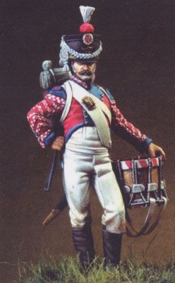 Kingdom of Naples, 6th Regt. Rifles' Drummer - 1815