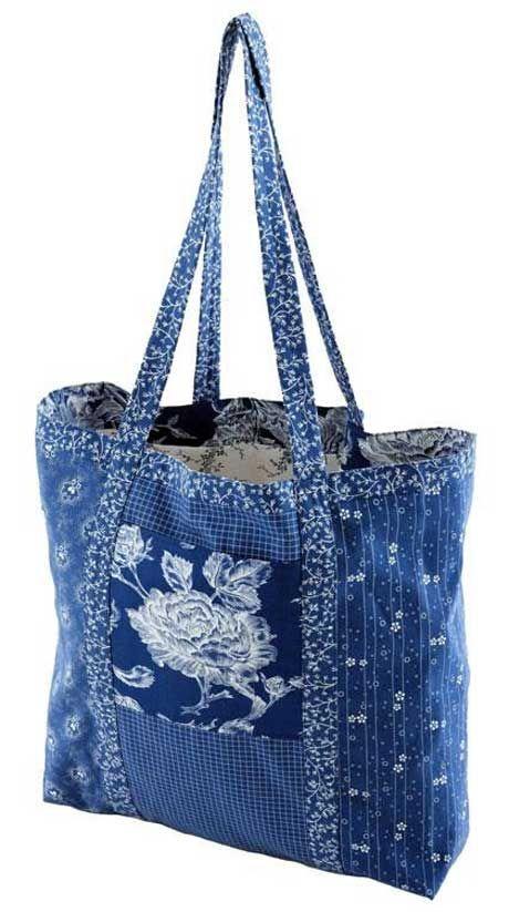 Free Bag Pattern and Tutorial - Reusable Market Bag