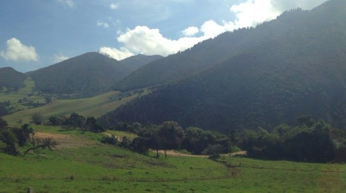 More scenery from the drive to Lake Guatavita. So it turns out the Colombian countryside is amazing!