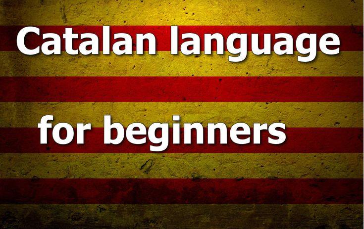 Catalan language Lesson 1
