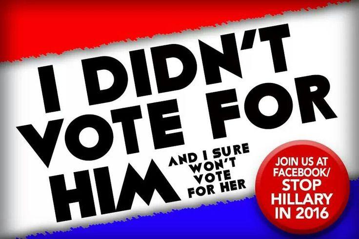 Stop Hillary #votewithyourbrainnotyourgender #educateyourself #benghazibenghazibenghazi