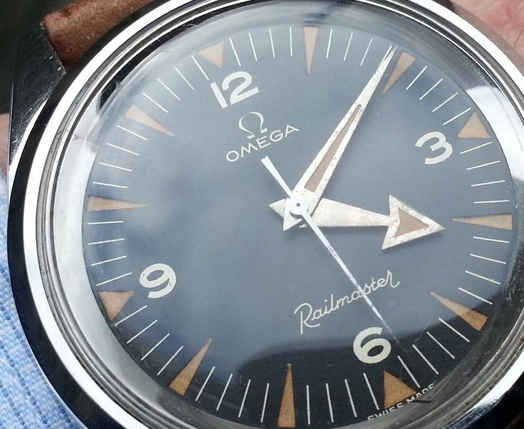 Awesome Vintage Omega Railmaster Reference CK2914 In Stainless Steel Circa 1950s - http://omegaforums.net