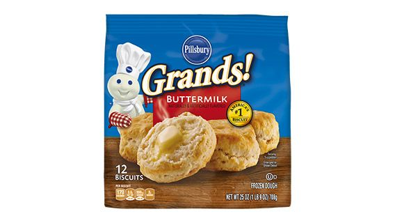 With Grands!® Frozen Biscuits, you can bake just what you need, and pop the rest back in the freezer. Cooking convenience at its best!