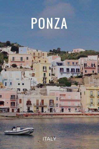 Travel // Ponza Italy // story by Matteo Acitelli on @stellerstories