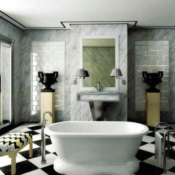 Lorenzo Castillo London bathroom