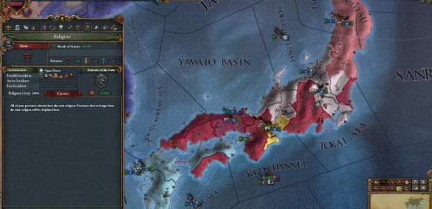 Europa Universalis IV looks east with Mandate Of Heaven