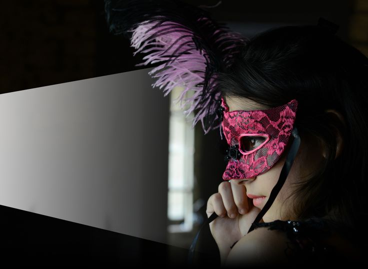 15 birthday. Pink mask. Fashion. Photoshoot.