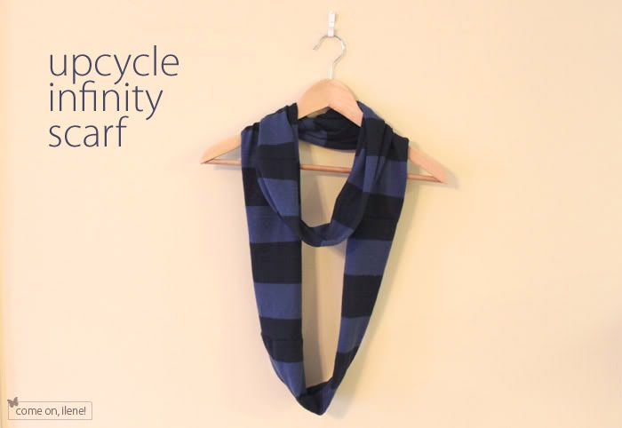 Upcycle Infinity Scarf