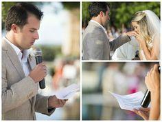 Votos de casamento: voto dos noivos na praia - Foto Vanessa Kohler