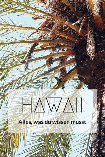 Dein ultimativer Guide für eine perfekte Hawaii-Reise. Schnell und übersichtlich: Mit Tipps zur individuellen Urlaubsplanung, Unterkünften, Anreise, Fortbewegung, Sehenswürdigkeiten und Besonderheiten der Inseln Oahu, Maui, Kaui, Big Island, Moloka'i und Lana'i.