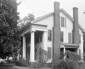 Alabama has one of the largest collections of Antebellum homes in the country. The Edwin Reese House in Eutaw , Alabama.