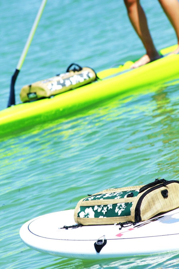 Deppen custom wood canoe paddles - Deckbagz The First The Original The Only Retro Surf Style Deck Bags For