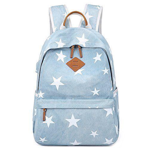 946f282924fd eBay #Sponsored Yousu Women Canvas Backpack Vintage College Girls ...