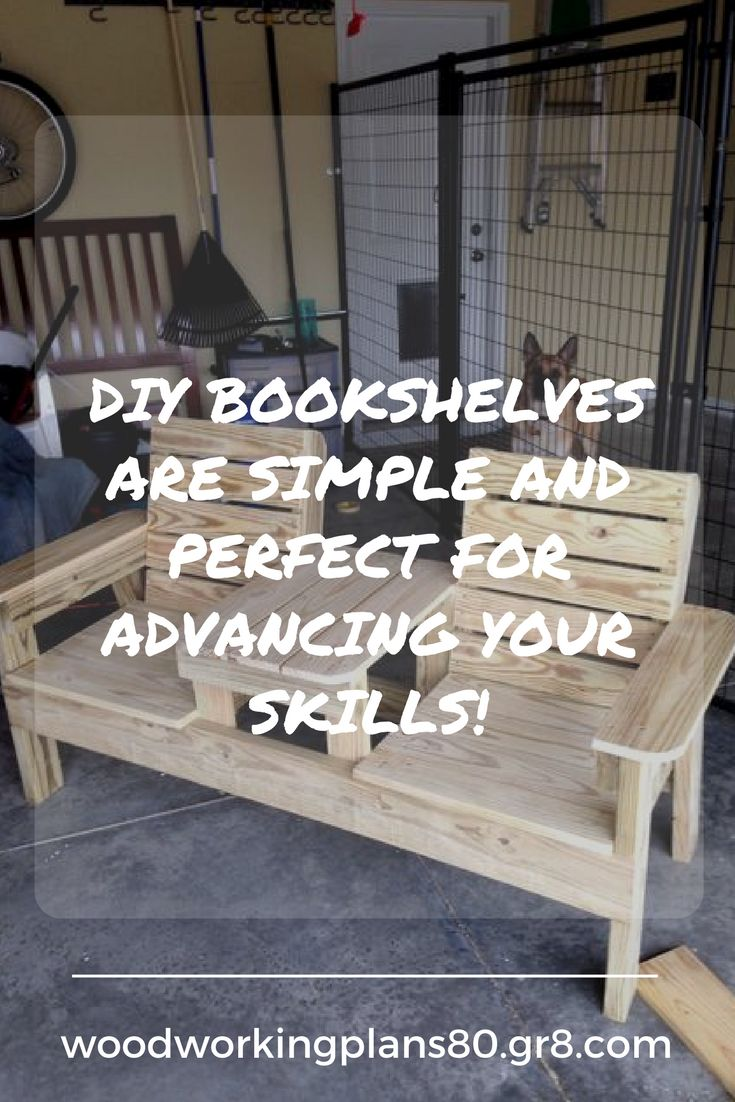 Building bookcases just became easier with these free tips and bookcase plans. These DIY bookshelves are simple and perfect for advancing your skills!