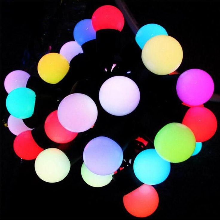 Светодиодные Лампы Глобальные Рождественские Огни Flash Цветные Фея Свадебные Украшения
