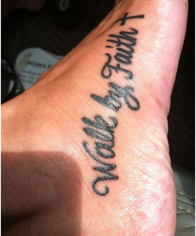 Best Foot Tattoo Designs - Our Top 10 | StyleCraze