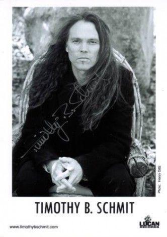 Тимоти Шмит  Из группы The Eagles.
