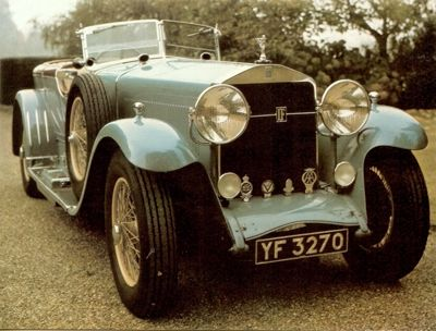 1927 Isotta Fraschini 8A sports with body by Cessare-Sala