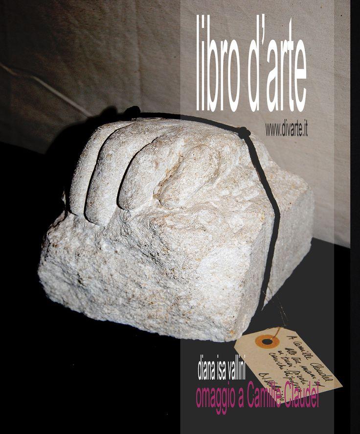 """Libro d'Artista """"8 Dediche per affinità femminili"""" Omaggio a Camille Claudel"""
