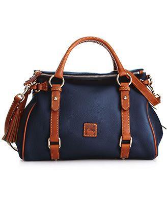 Dooney & Bourke Handbag, Dillen II Small Satchel - Dooney & Bourke - Handbags & Accessories - Macy's