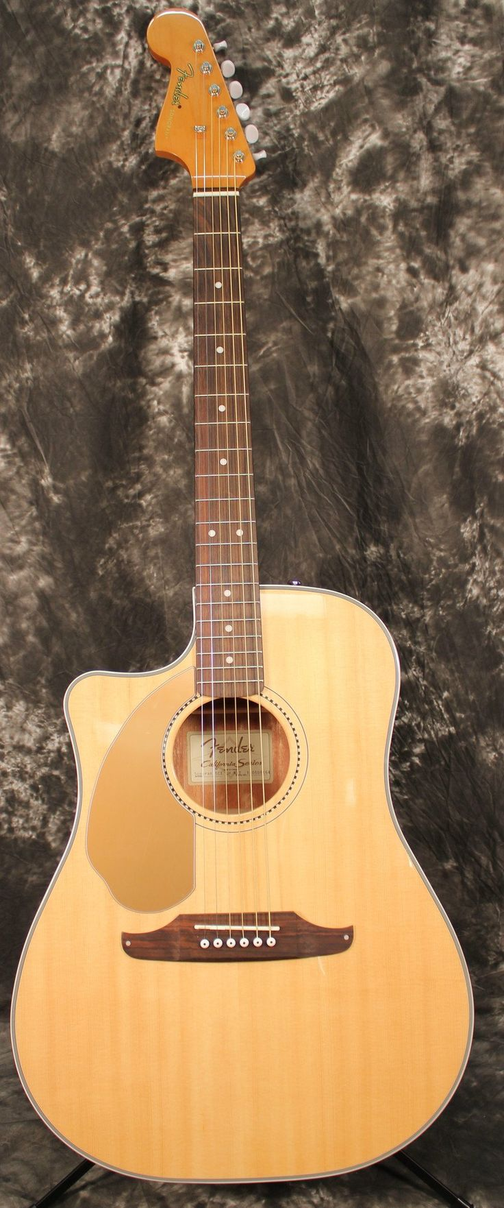 Fender Sonoran SCE Left-Handed Acoustic Guitar Natural