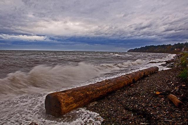 Angry sea  by GlacierTim, via Flickr