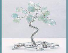 "CHD424 - Statueta ""Tree of Life"" (decoratiune,sculptura sarma,marturie/favor nunta,cadou,aniversare)"