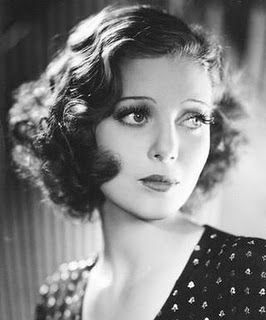 1930s Hair Styles : Swing Fashionista - I'd like my hair like this every day! Time to experiment more with new setting patterns, since my hair is much shorter than it used to be... (Isn't Loretta Young just the most GORGEOUS thing?)