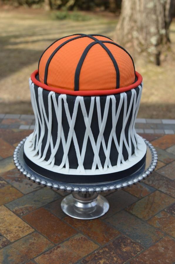 Basketball and Net - Cake by Elisabeth Palatiello