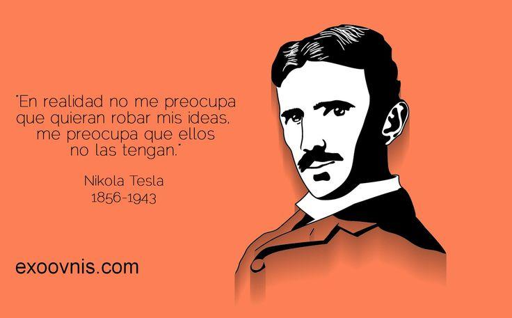 Las mejores 31 frases de Nikola Tesla, el inventor que eternamente vivirá adelantado a cualquier tiempo. Su sabiduria es impresionante.
